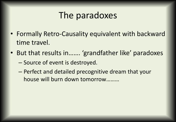 The paradoxes