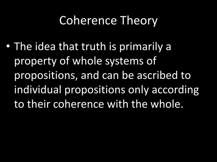 Coherence T