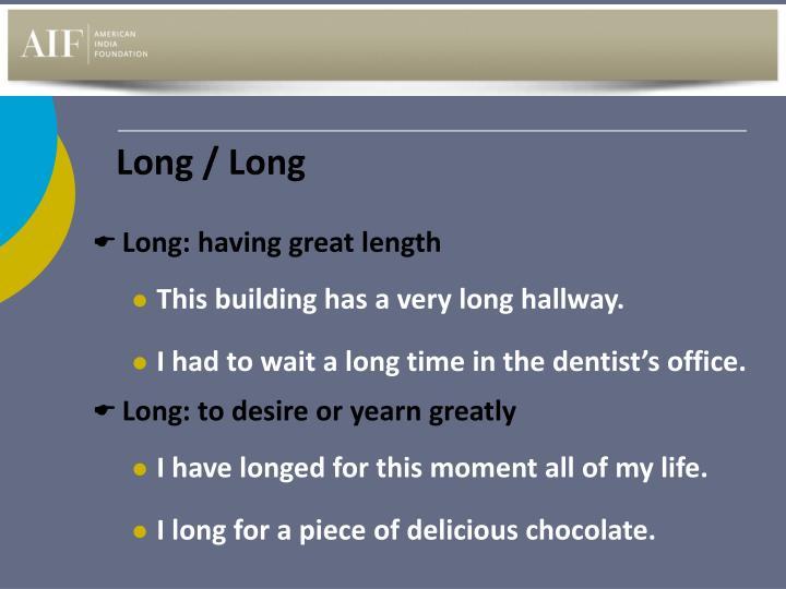 Long / Long