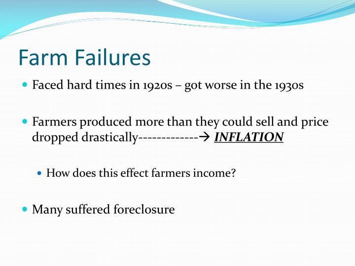 Farm Failures