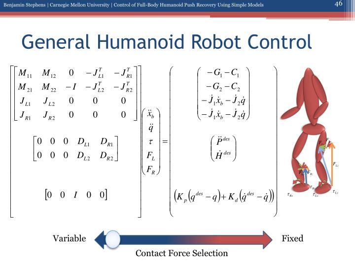 General Humanoid Robot Control