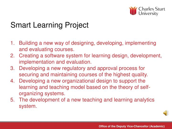 Smart Learning Project