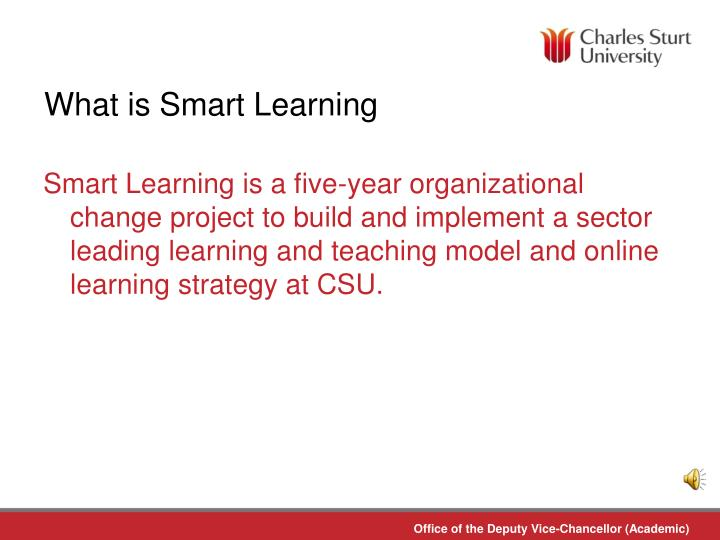 What is Smart Learning