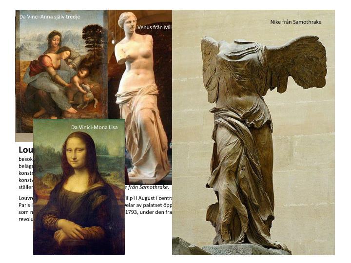 Da Vinci-Anna själv tredje