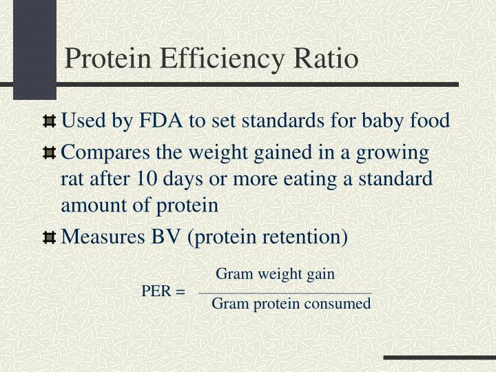 Protein Efficiency Ratio