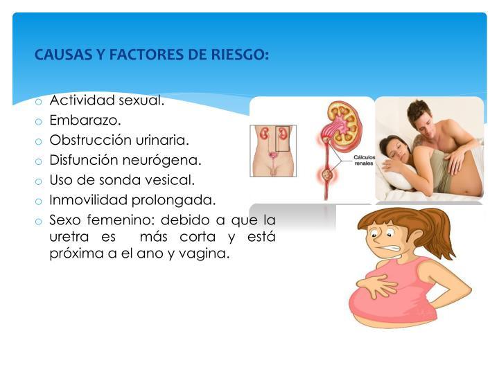 CAUSAS Y FACTORES DE RIESGO:
