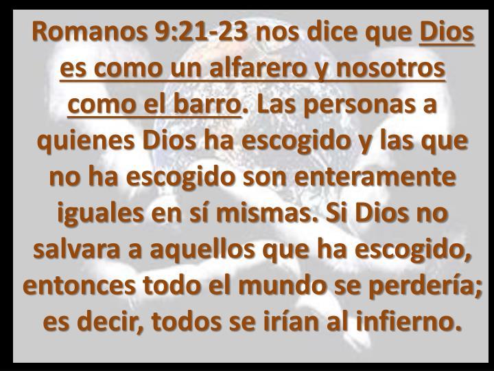 Romanos 9:21-23