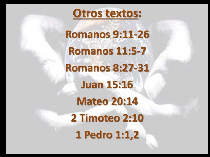 Otros textos