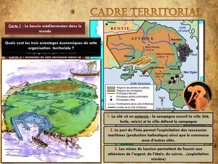 Cadre territorial