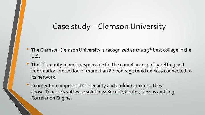 Case study –