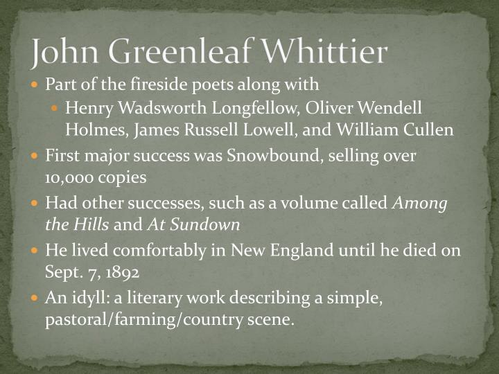John greenleaf whittier1