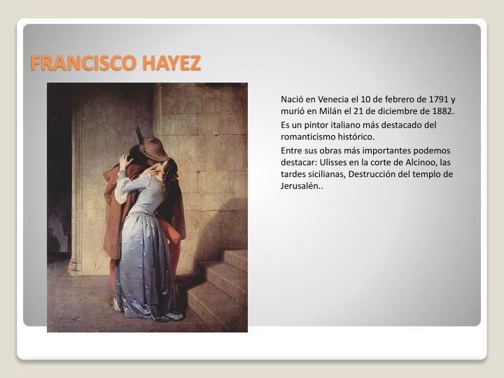 FRANCISCO HAYEZ