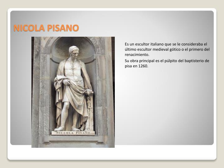 NICOLA PISANO