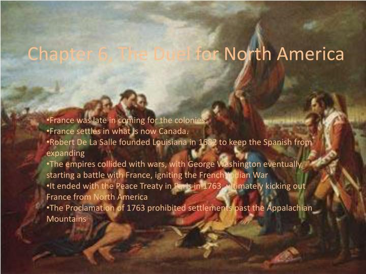 Chapter 6, The Duel for North America