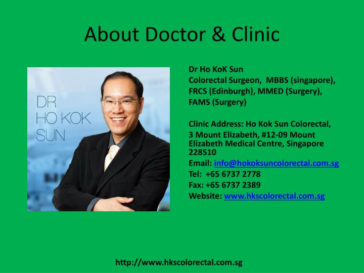 About Doctor & Clinic
