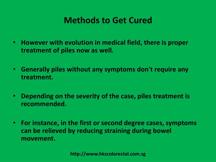 Methods to Get Cured