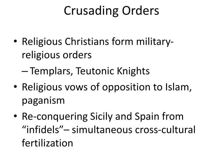 Crusading Orders