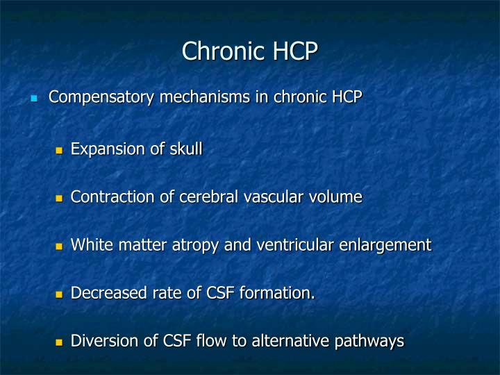 Chronic HCP