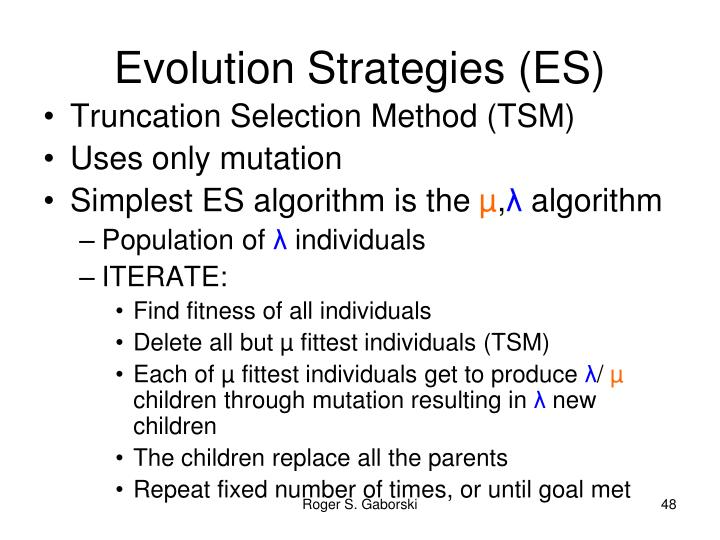 Evolution Strategies (ES)