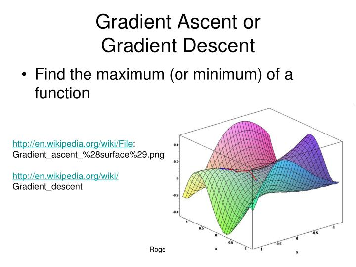 Gradient Ascent or