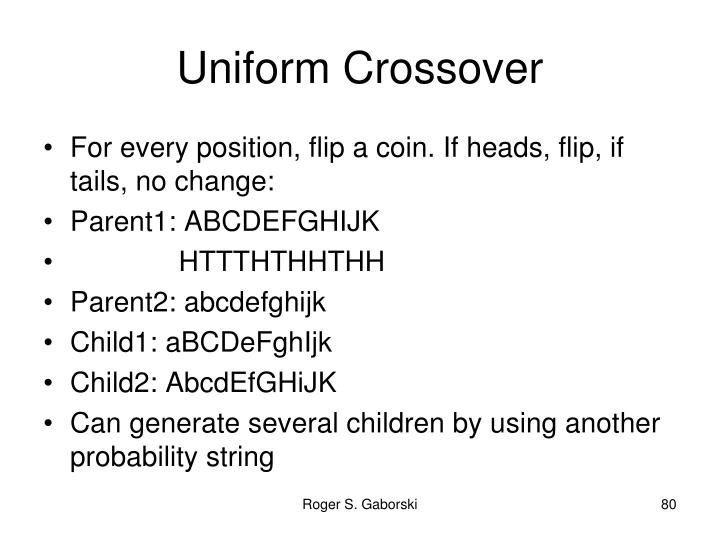 Uniform Crossover