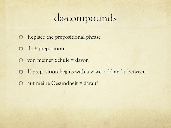 da-compounds