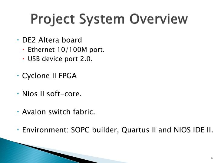 Project System Overview