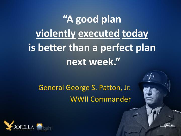 """A good plan"