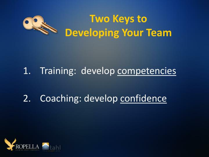 Two Keys to