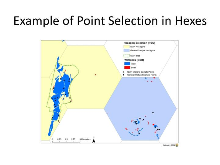 Example of Point Selection in Hexes