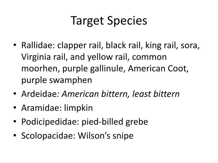 Target Species