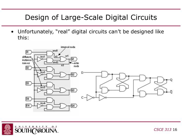 Design of Large-Scale Digital Circuits