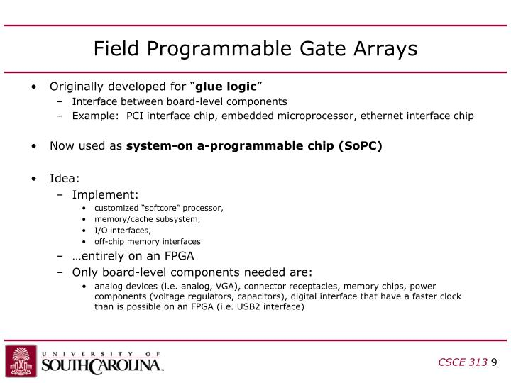 Field Programmable Gate Arrays