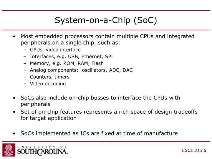 System-on-a-Chip (