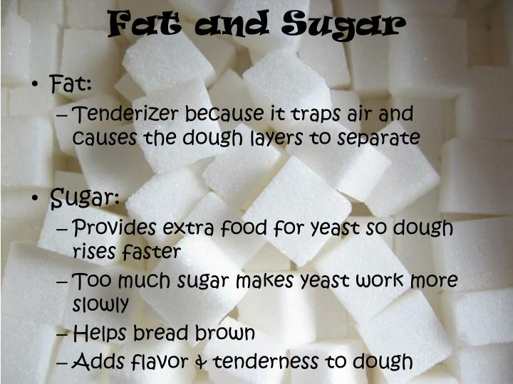 Fat and Sugar