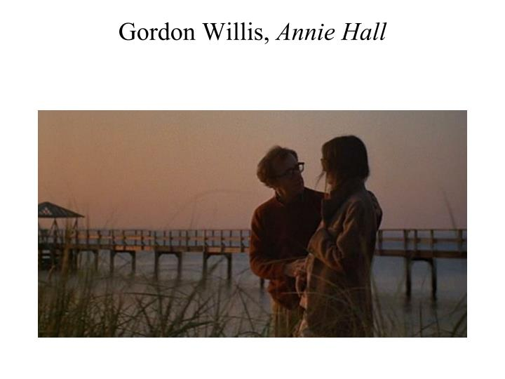 Gordon Willis,