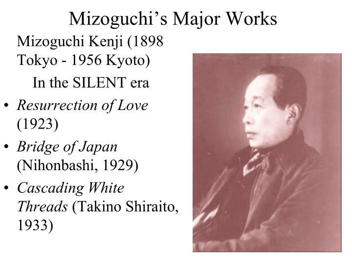 Mizoguchi's