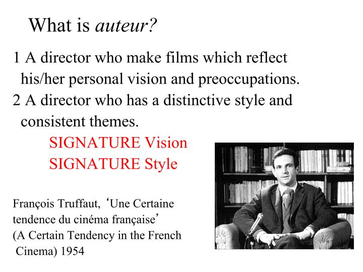 What is auteur1