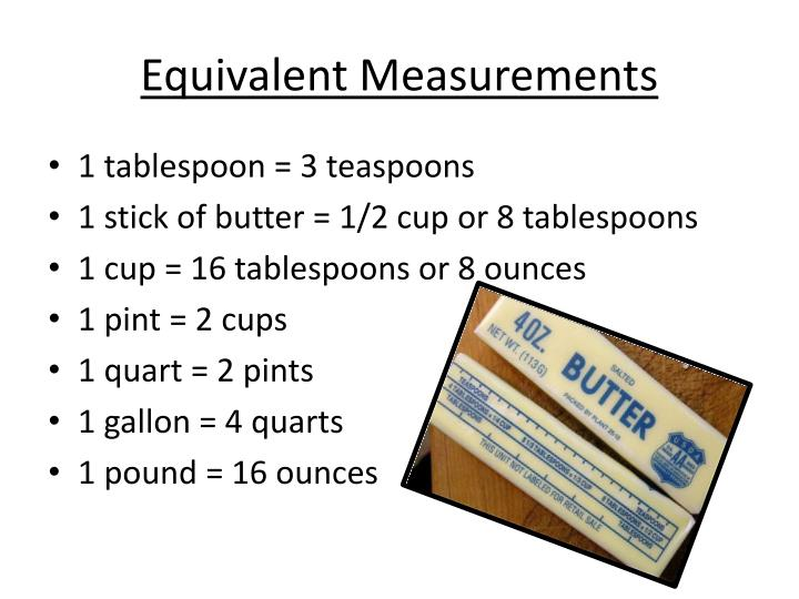 Ppt basic cooking skills test powerpoint presentation for 1 table spoon oz