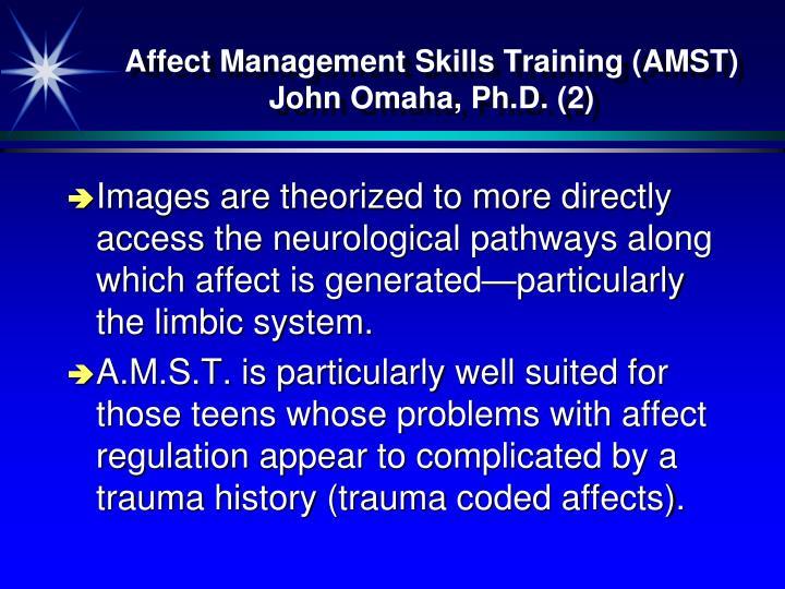 Affect Management Skills Training (AMST)