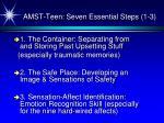 amst teen seven essential steps 1 3