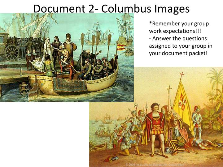 Document 2- Columbus Images