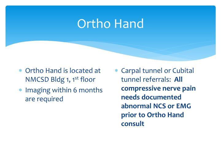 Ortho Hand