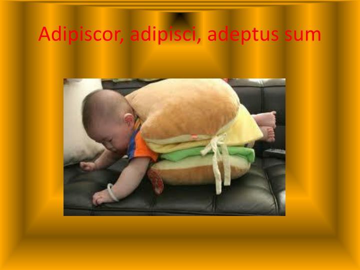 Adipiscor