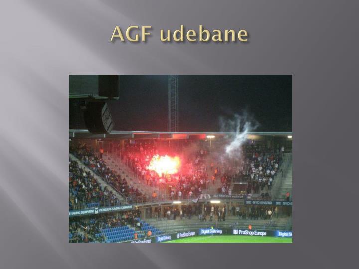 AGF udebane