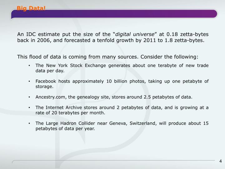 Big Data!