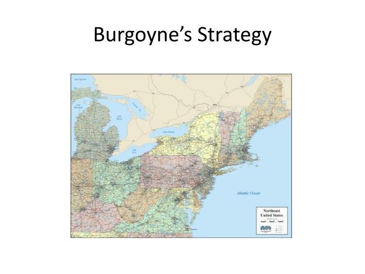 Burgoyne's Strategy