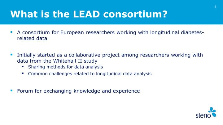 What is the lead consortium