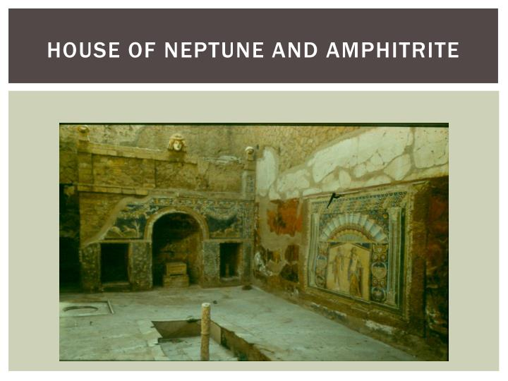 House of Neptune and Amphitrite