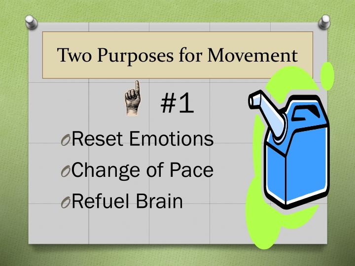 Two Purposes for Movement